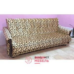 Велюровый диван с подлокотниками Классик бежевый Е1000-В21
