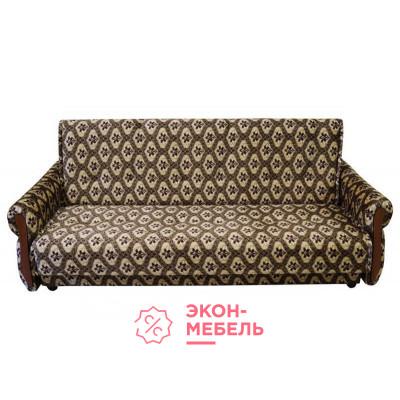 Велюровый диван с подлокотниками Классик бежевый Е1000-В3