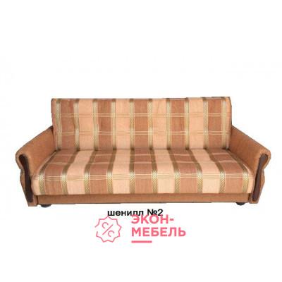 Диван-кровать с подлокотниками Классик Шенилл светло-коричневый E1001-SH2
