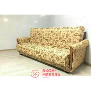 Диван-кровать с подлокотниками Классик Гобелен бордовый E1002-G24