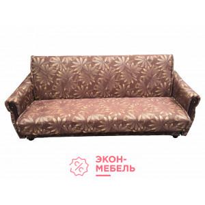 Диван-кровать с подлокотниками Классик Гобелен коричневый E1002-G15
