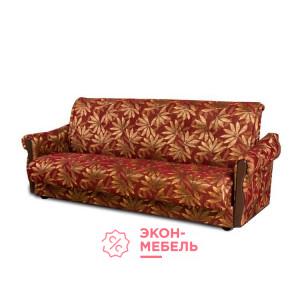 Диван-кровать с подлокотниками Классик Гобелен бордовый E1002-G15-4