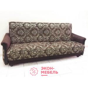 Диван-кровать с подлокотниками Классик Гобелен шоколад E1002-G4