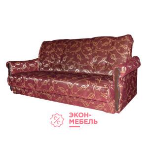 Диван-кровать с подлокотниками Классик Гобелен бордовый E1002-G7-2