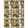 Диван-кровать с подлокотниками Классик микровелюр плетение зеленое E1004-034-1