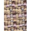 Диван-кровать с подлокотниками Классик микровелюр плетение бежевое E1004-034-3