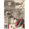 Диван-кровать с подлокотниками Классик микровелюр город светлый E1004-039-4