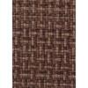 Диван-кровать с подлокотниками Классик микровелюр плетение коричневое E1004-36-3