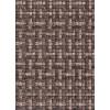 Диван-кровать с подлокотниками Классик микровелюр плетение коричневое E1004-36-4