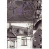 Диван-кровать с подлокотниками Классик микровелюр город серый E1004-A2