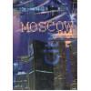 Диван-кровать с подлокотниками Классик микровелюр город синий E1004-MOSKOW-4