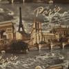 Диван-кровать с подлокотниками Классик микровелюр город серый E1004-PARIS-1-1
