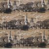 Диван-кровать с подлокотниками Классик микровелюр город бежевый E1004-PARIS-1-2