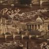 Диван-кровать с подлокотниками Классик микровелюр город коричневый E1004-PARIS-1-3