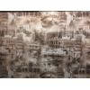 Диван-кровать с подлокотниками Классик микровелюр город коричневый E1004-Т-2