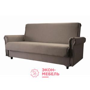 Диван-кровать с подлокотниками Классик бежевый вельвет люкс Е1007-VL-02