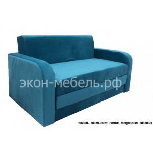 Диван-кровать Чебурашка Евро в ткани вельвет люкс, эскада или жаккард