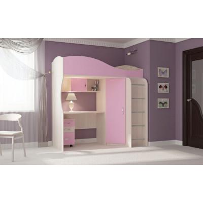 Детская кровать-чердак Буратино-5