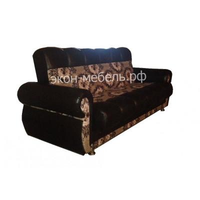 Диван-кровать Мечта микровелюр с экокожей