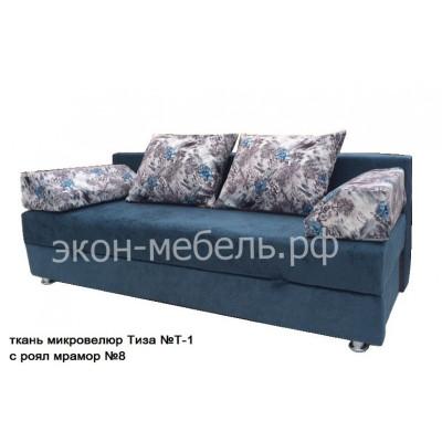 Диван-кровать Еврокнижка 1 Вельвет или жакард
