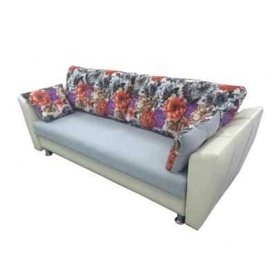 Диван-кровать Еврокнижка со скошенными подлокотниками