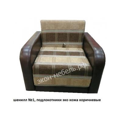 Кресло-кровать Евро Шенилл и кож зам
