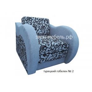 Кресло-кровать Фаворит в ткани  турецкий гобелен, рогожка или эко кожа