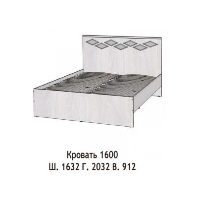 Кровать Диана 1600мм