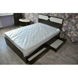 Кровать Николь 2-х спальная 1,4м