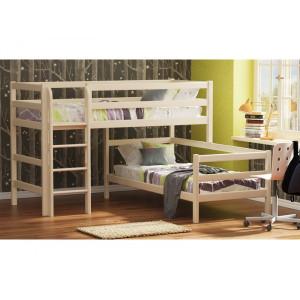 Кровать 2-ух ярусная Омега 14 вариант 7