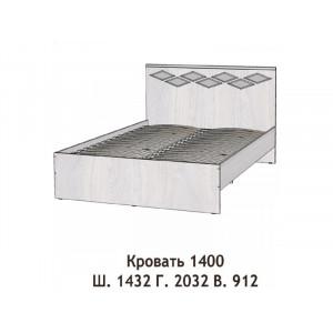 Кровать Диана 1400мм