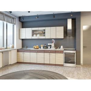 Кухня модульная ЛДСП Шимо 3м