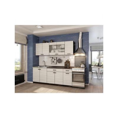 Кухня модульная ЛДСП Шимо 2м