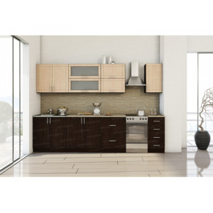Кухня модульная МДФ Тиса 2,6м