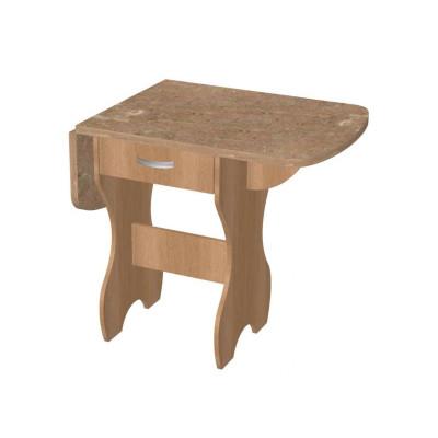 Стол обеденный №2 с ящиком постформинг