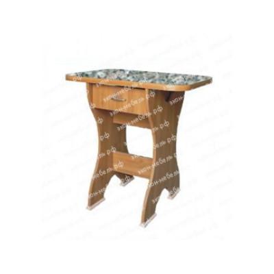 Стол обеденный №4 с ящиком постформинг