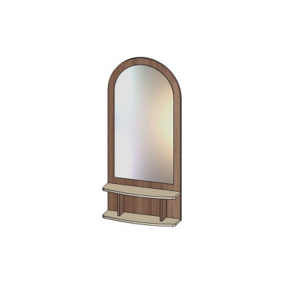 Зеркало с полкой