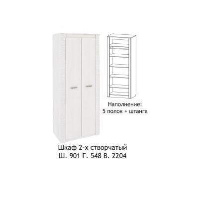 Шкаф 2-х створчатый Ривьера
