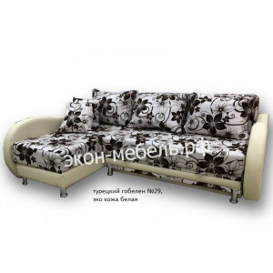 Диван-кровать Угловой Фаворит (турецкий гобелен, рогожка)