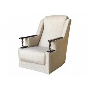 Кресло с деревянными подлокотниками Анна