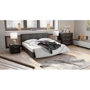 Кровать c мягкой обивкой тип 1 Элис