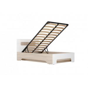Кровать полутороспальная с подъемным механизмом Палермо-3 1200 мм