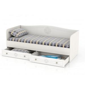 Кровать с ящиками Онега 800 мм