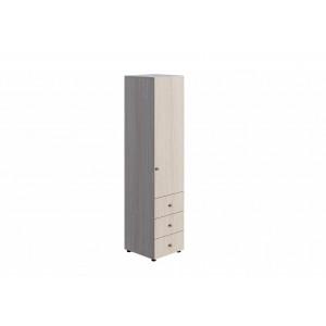 Шкаф 1-створчатый комбинированный ШК-004 Мийа-3А