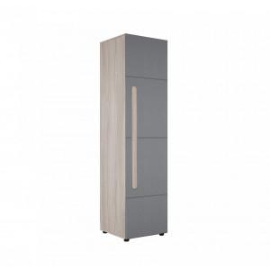 Шкаф 1-створчатый Палермо-3 ШК-008 (Графит)