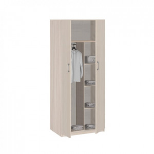 Шкаф для одежды 2-х дверный 5.10 Лотос / 16.24 Дуэт