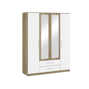 Шкаф 4-х дверный Бланка