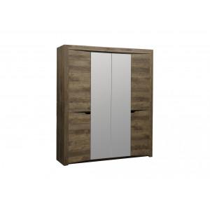 Шкаф 4-х дверный 33.01 Лючия