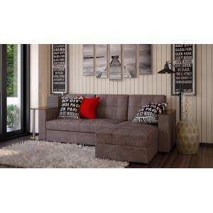 Угловой диван с баром Атлант кофе